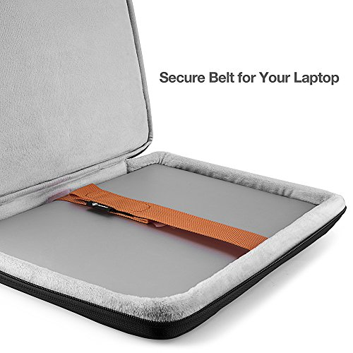 tomtoc Laptoptasche 13 Zoll Laptop Hülle Businees Tasche Herren Damen wasserdicht Notebook Sleeve für MacBook Pro 13