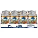 Blue Buffalo Blue's Stew Grain Free Natural Adult Wet Dog Food Variety Pack, Chicken Stew & Beef Stew 12.5-oz can (24 Count- 12 of Each Flavor)