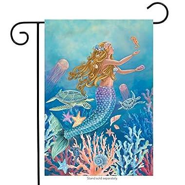 Mermaid Summer Garden Flag Nautical Fish 12.5  x 18  Briarwood Lane