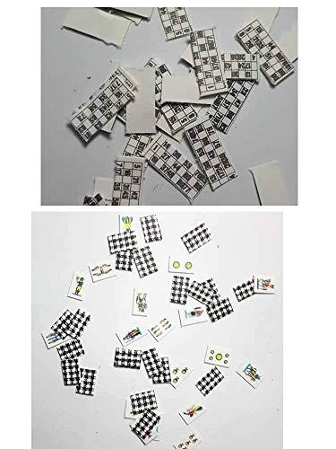 1 baraja de 40 cartas en miniatura de 10 x 7 mm napolitanas y 40 carpetas de tumba de 16 x 6 mm para pastores de Belén San G. Armeno. Recibirás un llavero de regalo GTT ART050.