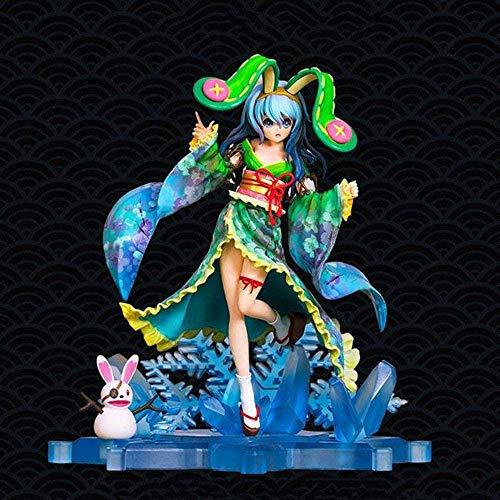 SHUMEISHOUT The New Date A Live Kimono Yukata Shishino Modelo Anime Figura Figura Decoración Estatua Muñeca Modelo Colección Juguete Altura 24cm