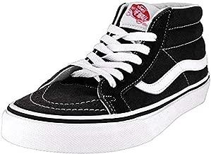 Vans Sk8-Hi Unisex Casual High-Top Skate Shoes Black/White