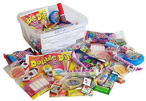 Boîte Spéciale avec Bonbon Rétro et Confiserie Classique - Idéales pour Bonbon Halloween et Fêtes dAnniversaire 1kg