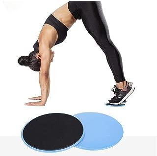 2 STÜCKE Gleitscheiben Slider Fitness Disc Übung Schiebeplatte Für Yoga Gym Core