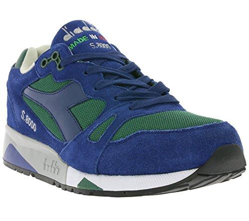 Diadora S8000 NYL ITA Schuhe Sneaker Turnschuhe Blau 501.170470 01 C6275, Größenauswahl:44