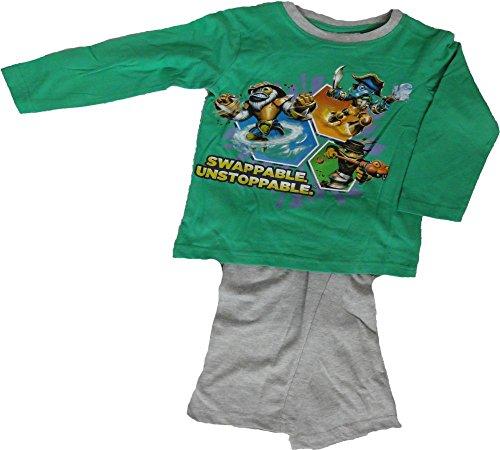 Skylanders Schlafanzug in Grün Gr. 98