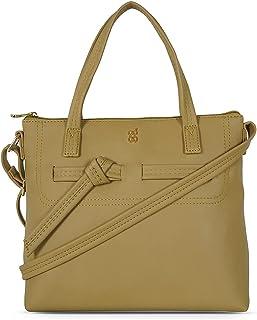 Baggit Women's Satchel Handbag (Yellow)