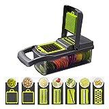 KAZOKUYiZi Cortador de Vegetales Slicer Fruits Herramienta Trituradora Peeler Ajo Chopper Patata Zanahoria Rallador Ensalada Maker Gadgets