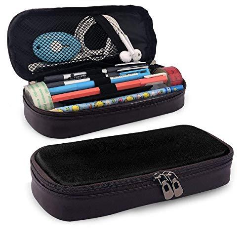 Estuche Escolar de Gran Capacidad, Bolsa de Lápiz Portable Estuche Organizador para Material Papelería con Cremallera Doble Brújula vikinga