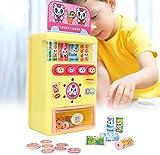 Juguete de la máquina expendedora para niños, Play House Kids Simulación Máquina registradora de Caja registradora automática Pretender Juegos de Juego de rol