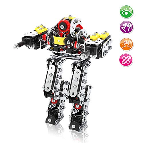 Construction Toys Robot,Metal Robot Building Kit Toys For Boys And Girls ,525pcs Robot STEM Educational AssembleToys ,Best Toy Gift for Kids Ages 6 + Years Old