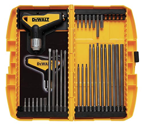 DEWALT DWHT70265 Ratcheting T-Handle Set, 31 Piece