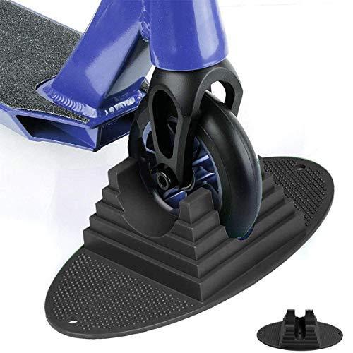 ICEWHWWL Soporte para scooter con base extra estable para patinete E y la mayoría de scooters principales de 90 mm a 120 mm