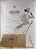Johnnie Walker Gold Label Scotch Whisky mit 2 Original Gläsern