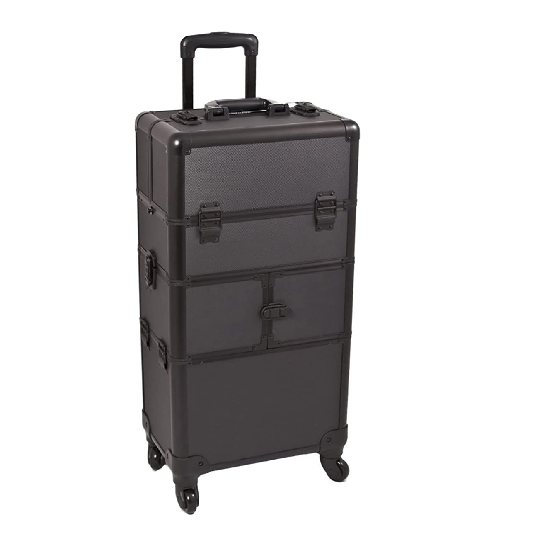 Black Dot Trolley Craft/Quilting Storage Case - I3564