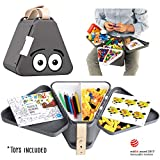 teebee - Kinder Reise Spielzeug Box, Kiste & Organizer | Spiel Unterlage, Reisetisch, Kindertisch,...