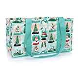 Thirty One Medium Utility Tote - No Monogram - 4121 - Snow Globe Shake-Up