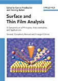 Surface and Thin Film Analysis: A Compendium of Principles, Instrumentation, and Applications (English Edition)