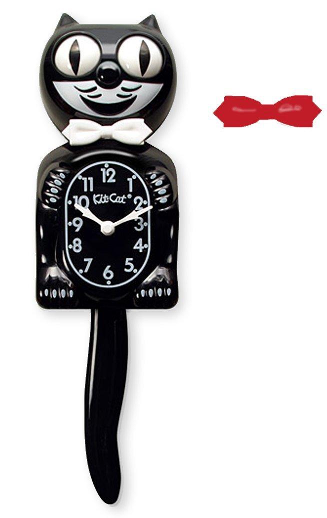 Kit Cat Klock Classic Black Clock