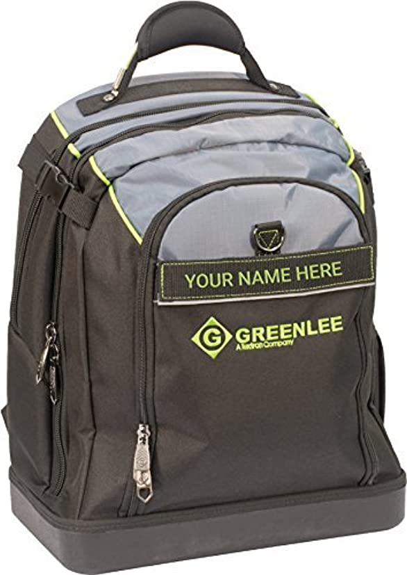 エクステント口頭時刻表Greenlee 0158-27 Professional Tool and Tech BackPack [並行輸入品]