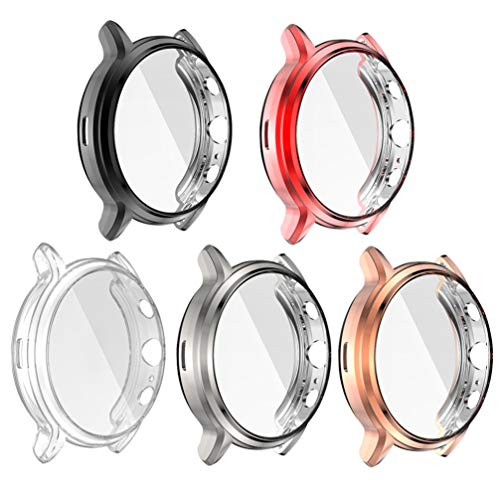 VILLCASE Capa Protetora de Relógio Compatível Com Capa Protetora de Tela 5Pcs Fóssil Gen 5