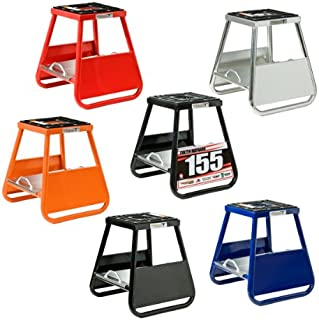 Pit Posse Aluminum Panel ID Stand 17 inches (Blue)