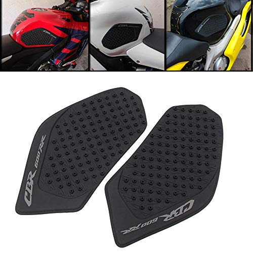 Motorcycle Rubber Tank Traction Pad Side Gas Knee Grip Protector for Honda CBR 600RR 2003 2004 2005 2006