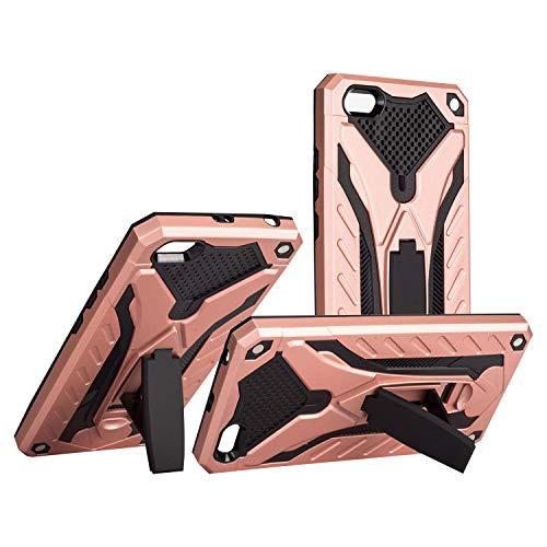 COOVY® Funda para Xiaomi Redmi 5A de plástico y Silicona TPU, extrafuerte, protección contra Golpes, Funda con función Atril | Color