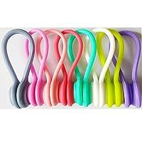 APPLICAZIONI WIDE: Gli avvolgitori del midollo magnetiche possono essere utilizzati in molti modi.Essi possono essere utilizzati per gestire i cavi, riagganciare chiavi, avvolgere le cose in cucina o fissare alcuni sacchi. E 'ideale per mantenere tut...