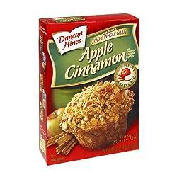 Duncan Hines Premium Muffin Mix Apple Cinnamon (Pack of 3)