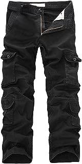 Sokajoy ♦ Men's Assault Tactical Pants Lightweight Cotton Multi-Pocket Active Outdoor Military Combat Cargo Trousers