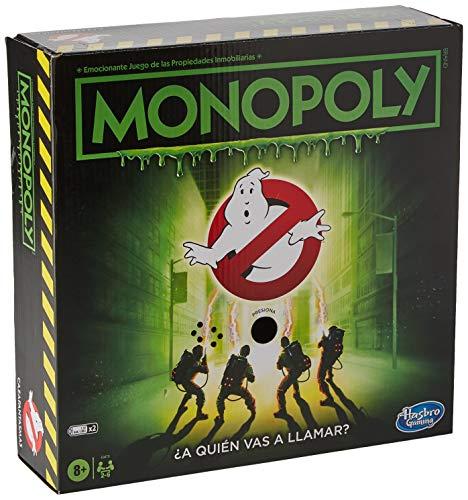 Hasbro- Juego de Mesa Monopoly Cazafantasmas (E94791050)