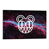 EWRW 8 Radiohead-Poster, Gemälde auf Leinwand,