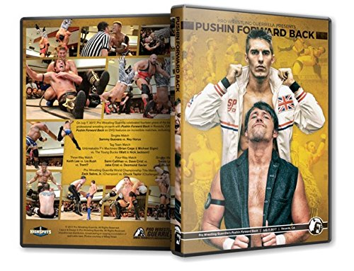 Official Pro Wrestling Guerrilla PWG - Pushin Forward Back 2017 Event Blu-Ray