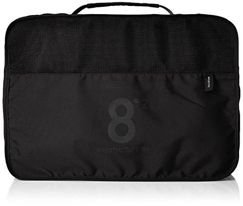 [ミレスト] MILESTO ミレスト 旅行用便利グッズ 旅行用収納 収納ケース 衣類 撥水 8l パッキングオーガナイザー Utility 16L 30 cm 黒 ブラック black