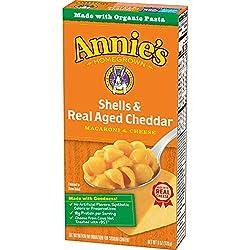 Annie's Aged Cheddar Mac and Cheese, 6 oz