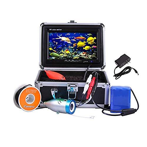 Magreel Nachtsicht Fisch Sucher Unterwasser Kamera Angelkamera unterwasserkamera Fischfinder Angel Zubehör, 7