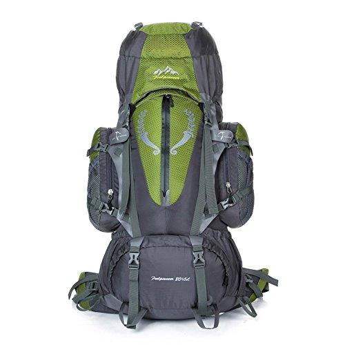 Backpack éclairage Grande contenance Sac à Dos d'alpinisme/Sports de Plein air Sac/Sacs/Sac à Dos de Camping 80l-armygreen 90L