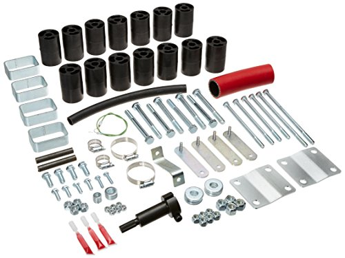 """Performance Accessories, Toyota Tacoma 2WD and 4WD TRD/Prerunner Only (6-Lugs) 3"""" Body Lift Kit, fits 1995.5 to 1999, PA5533, Made in America"""
