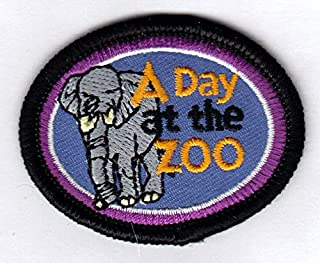 """/""""BEAR AWARENESS/""""  Iron On Patch Wild Animals Zoo Forest Woods"""