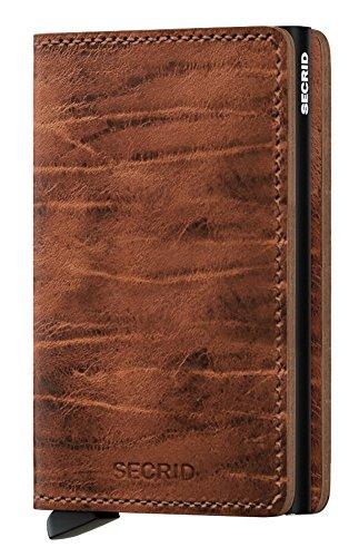Secrid Solid Aluminium Slimline RFID-kaartbeschermer Slim Wallet in Nederlands Martin Whiskey