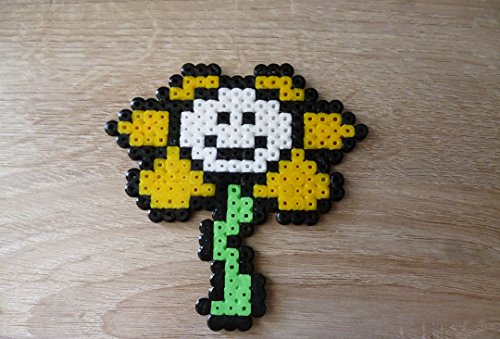 Sprite Flowey - undertale - Hama beads - pixel art
