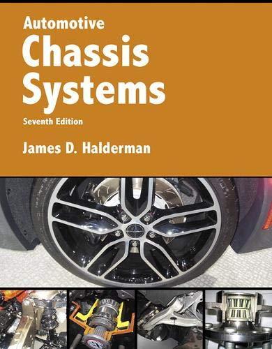 Automotive Chassis Systems (Halderman Automotive Series)