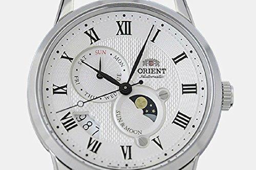 Orient Herren Analog Automatik Uhr mit Leder Armband FAK00002S0 - 6