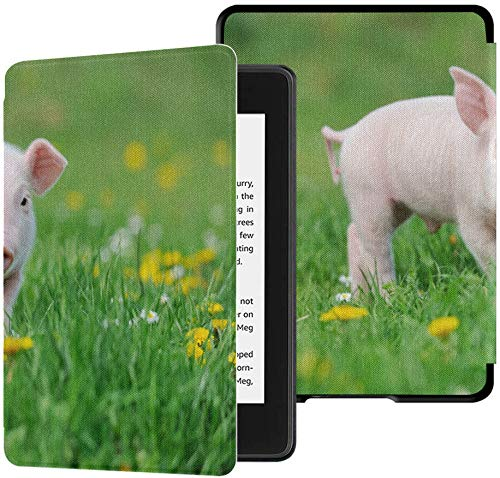 Kindle Case Paperwhite Farm Animal Nettes lustiges junges Schwein Kindle Paperwhite...