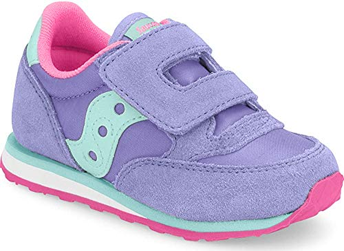 Saucony Boy's Baby Jazz Hook & Loop Sneaker, Periwinkle, 11.5 M US Little Kid