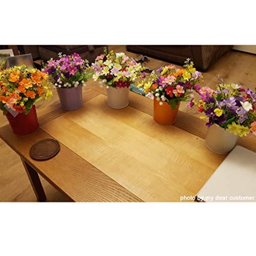 GIOVARA Metall-Blumentopf-Eimer zum Aufhängen, Übertopf mit Abflussloch, mit abnehmbarem Haken, für Garten/Balkon/Wohndekor (10 Stück im Sortiment in 10 Farben) - 6