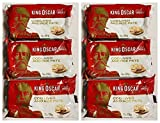 King Oscar Cod Liver and Roe Pate Canned 120g can From Norway pack of 6