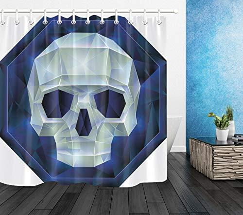 cortinas ducha calaveras