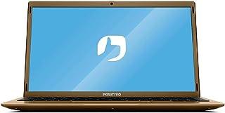 """Notebook Positivo Motion Q464C Intel® Atom® Quad-Core™ Windows 10 Home 14.1"""" - Dourado"""